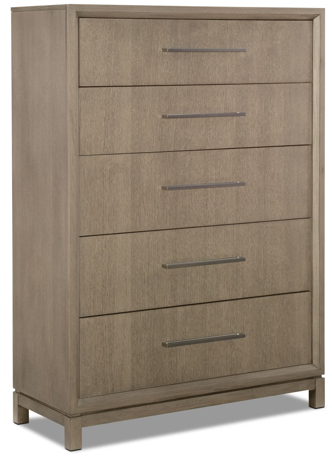 Bedroom Furniture - Rachael Ray Highline 5-Drawer Chest - Greige