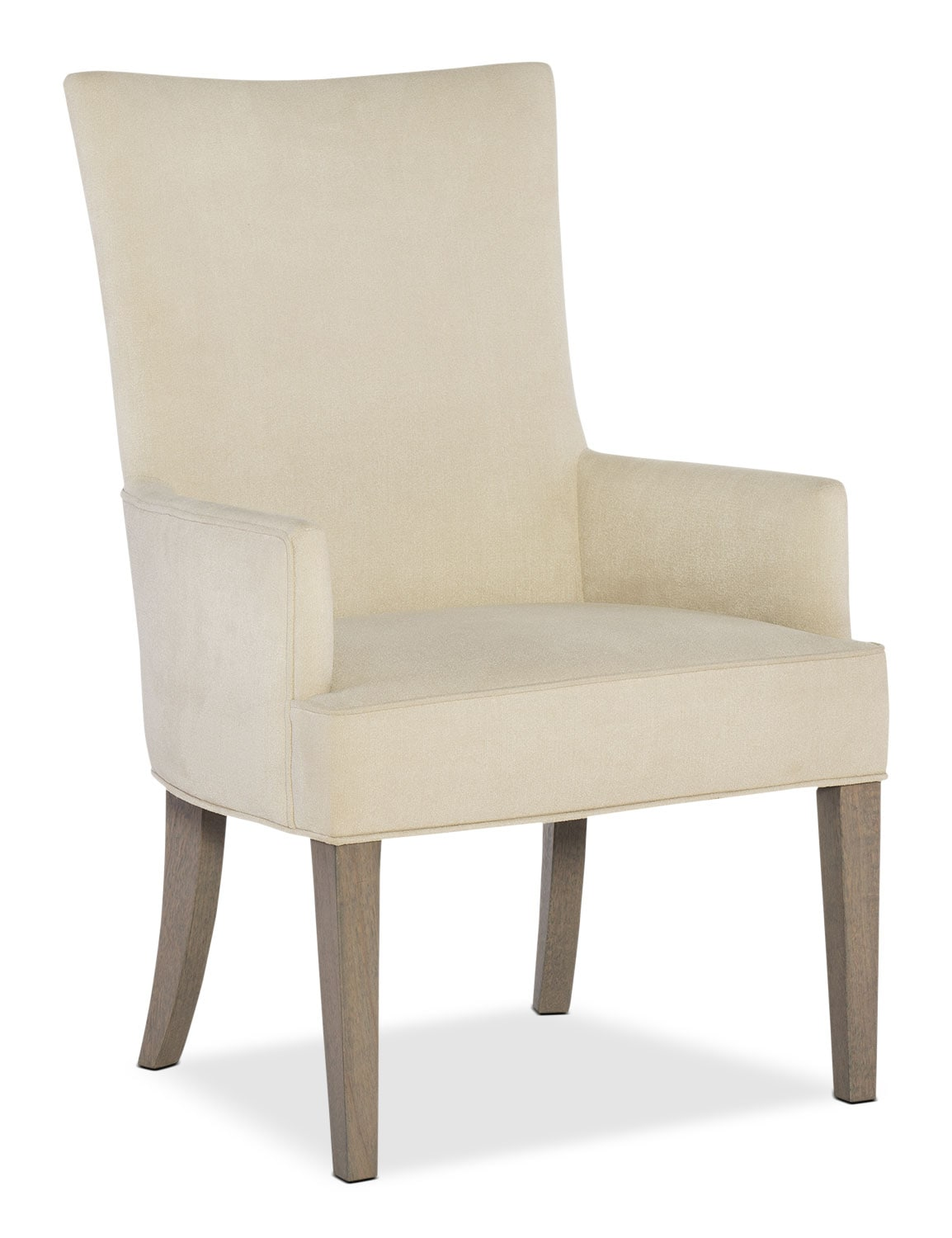 Dining Room Furniture - Rachael Ray Highline Upholstered Host Chair - Greige