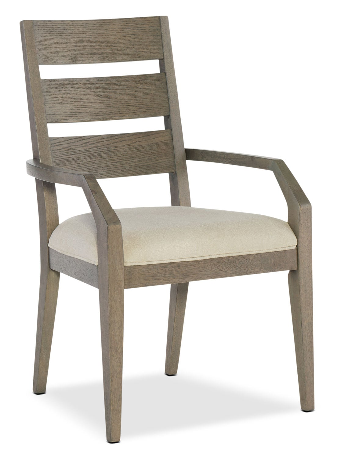 Rachael Ray Highline Ladder Arm Chair - Greige
