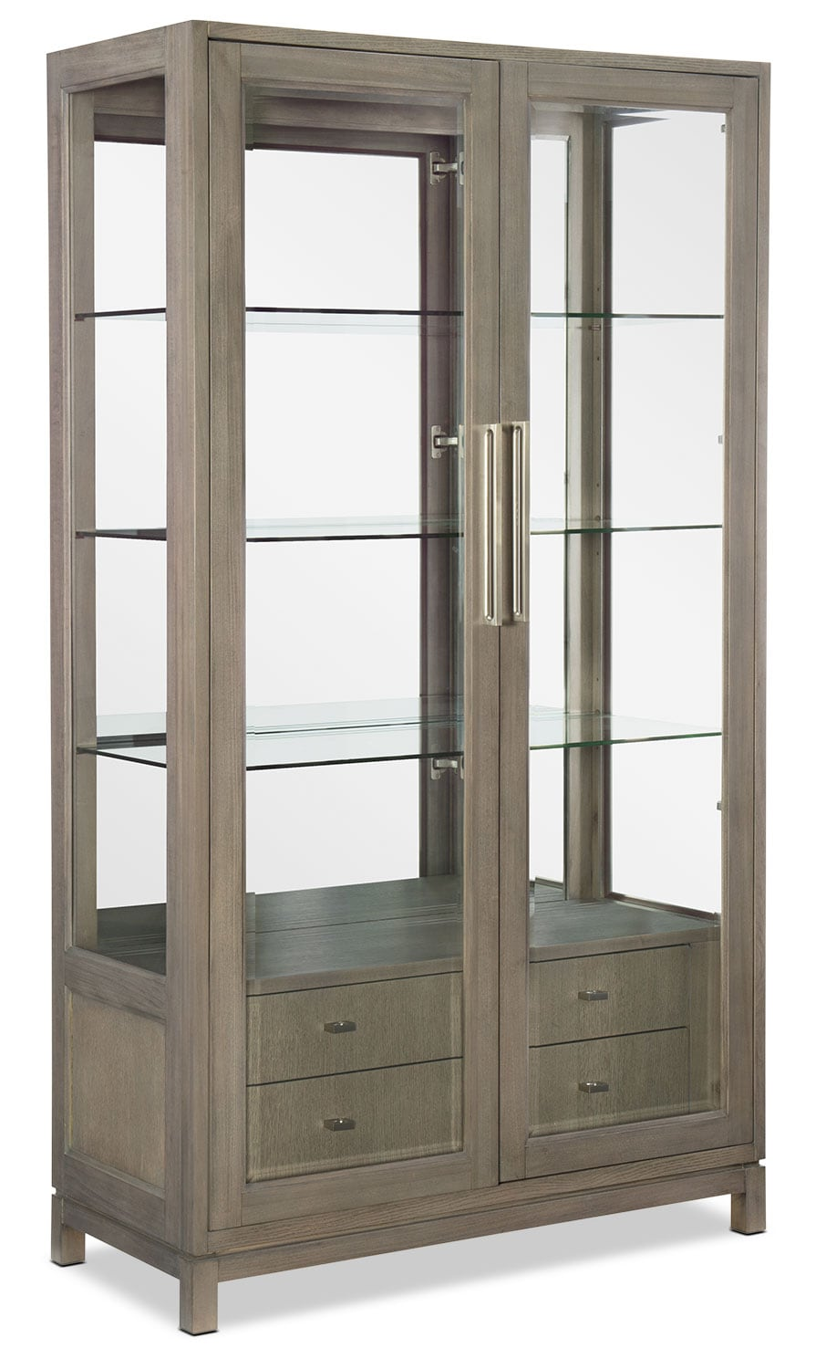 Rachael Ray Highline Bunching Display Cabinet - Greige