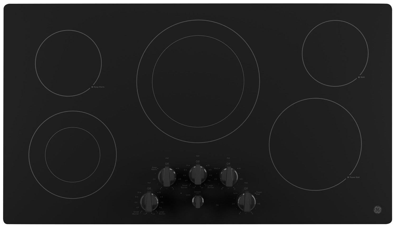 """GE 36"""" Electric Cooktop – JP3536DJBB"""