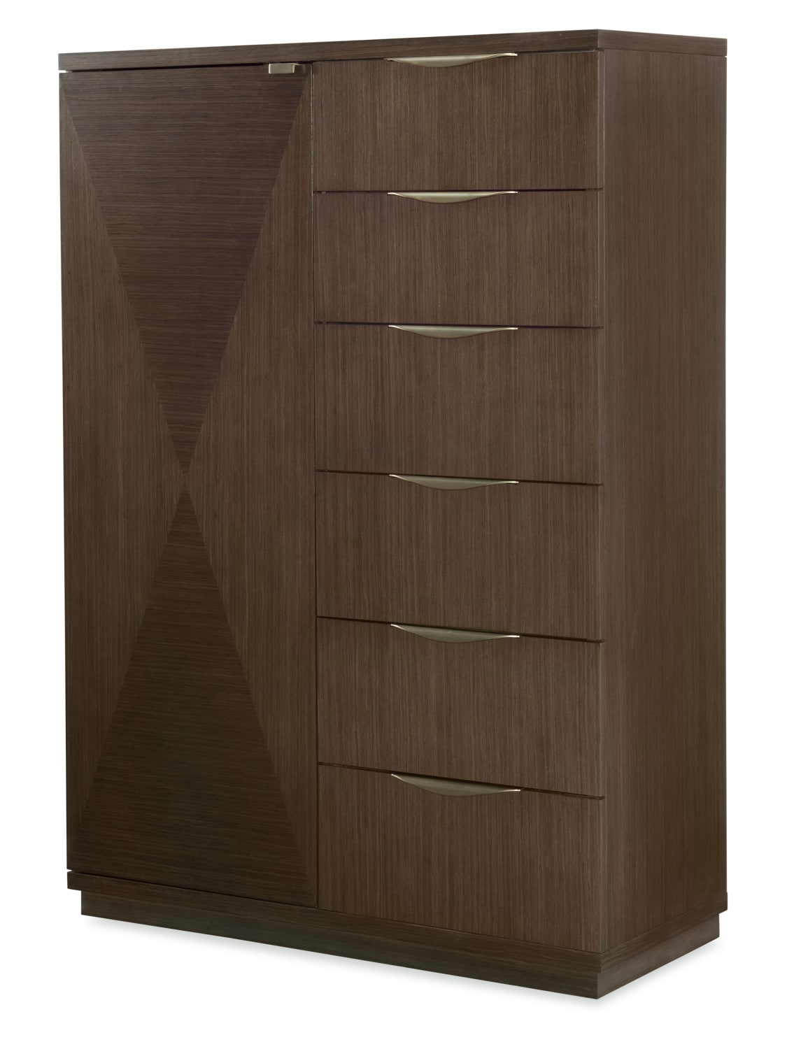 Rachael Ray Soho Door Chest - Ash Brown