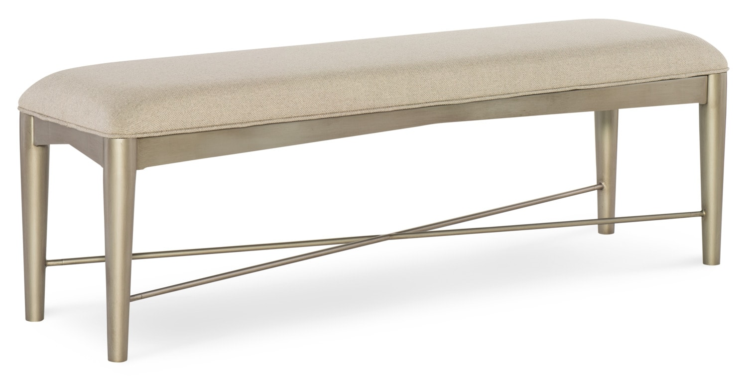 Bedroom Furniture - Rachael Ray Soho Bed Bench - Ash Brown
