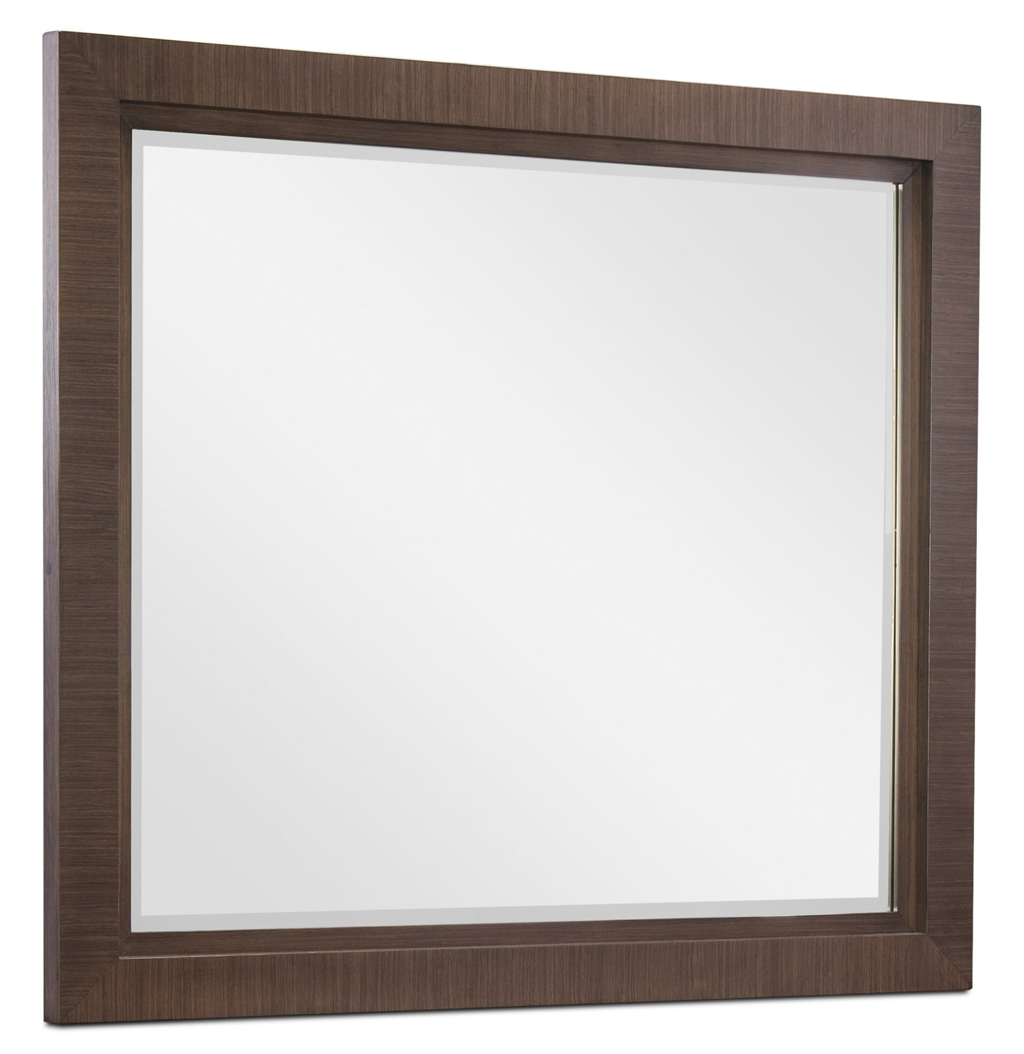 Bedroom Furniture - Rachael Ray Soho Mirror - Ash Brown
