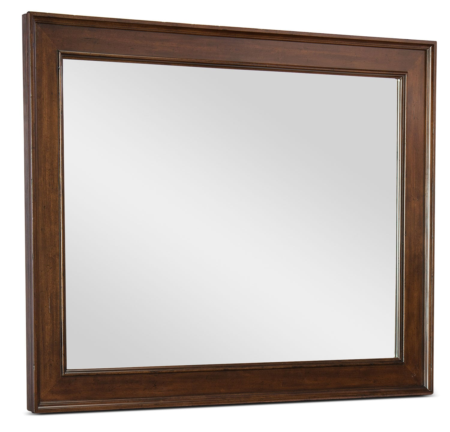 Bedroom Furniture - Rachael Ray Upstate Mirror - Conciare Cherry