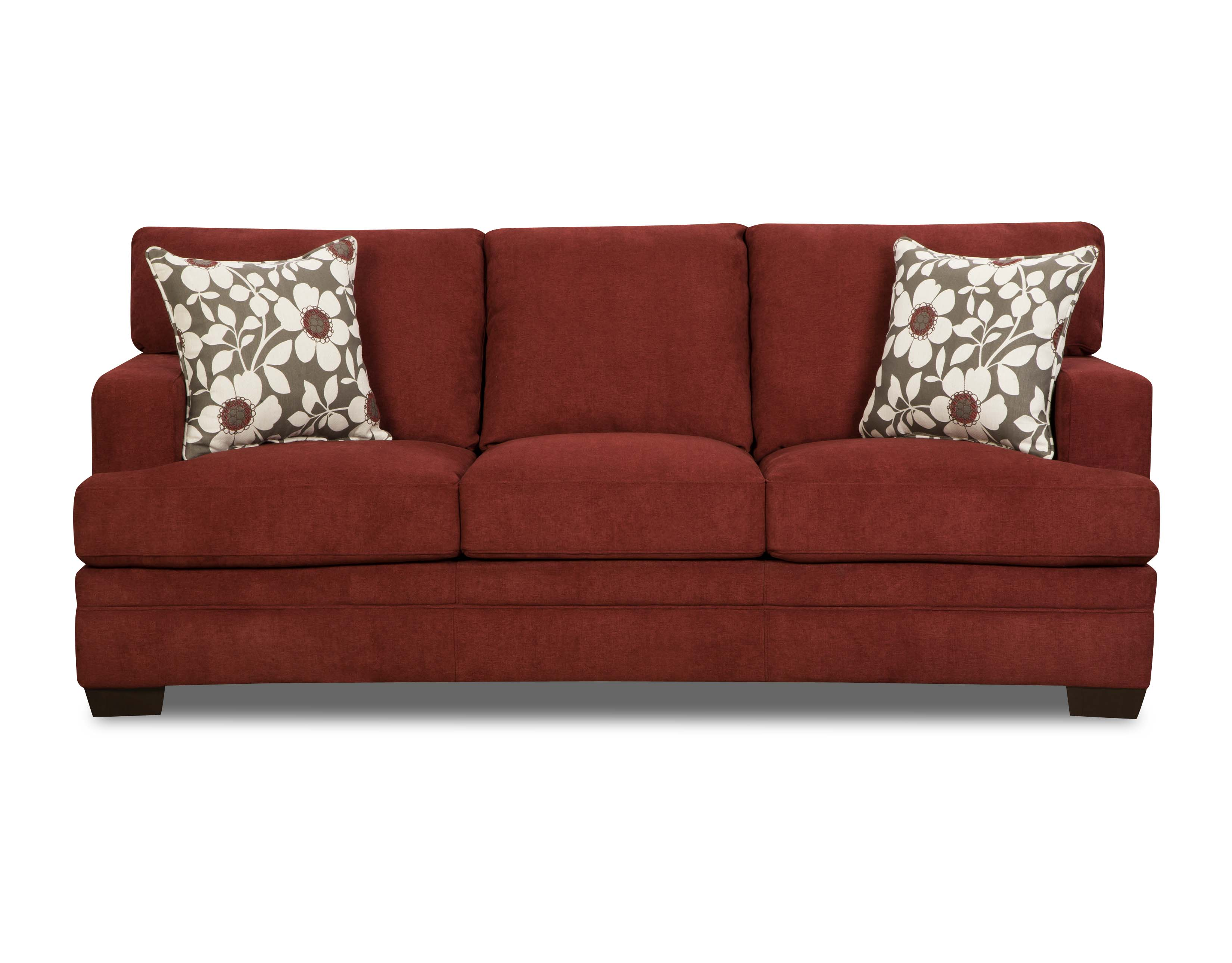 Pellis 3 Piece Living Room Set- Mulberry