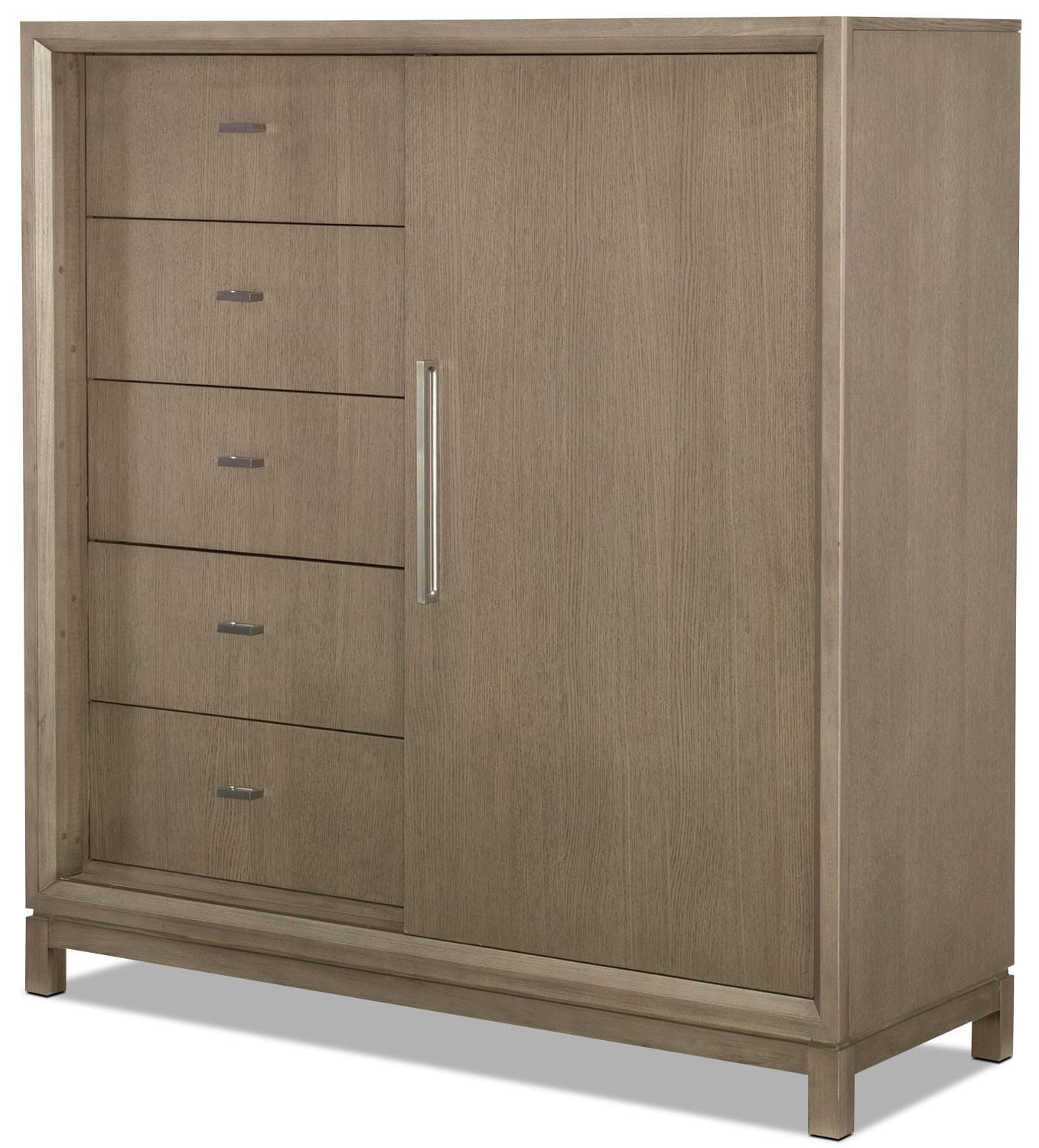 Rachael Ray Highline Sliding Door Chest - Greige