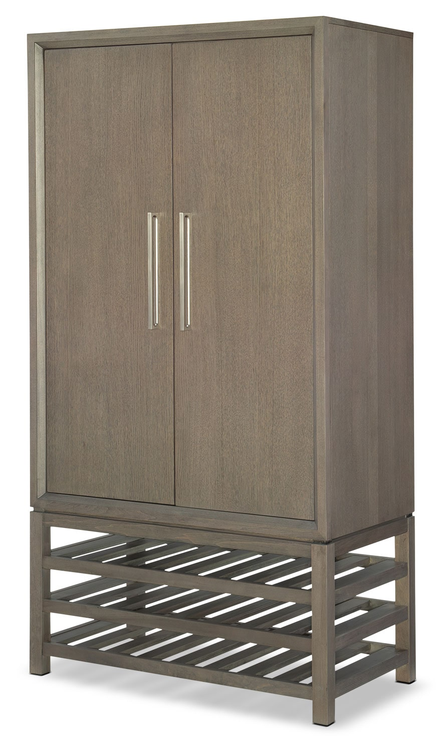 Dining Room Furniture - Rachael Ray Highline Bar Cabinet - Greige