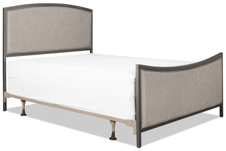 Bayside Queen Bed - Grey