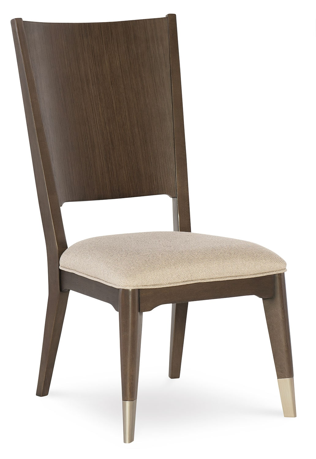 Dining Room Furniture - Rachael Ray Soho Side Chair - Ash Brown
