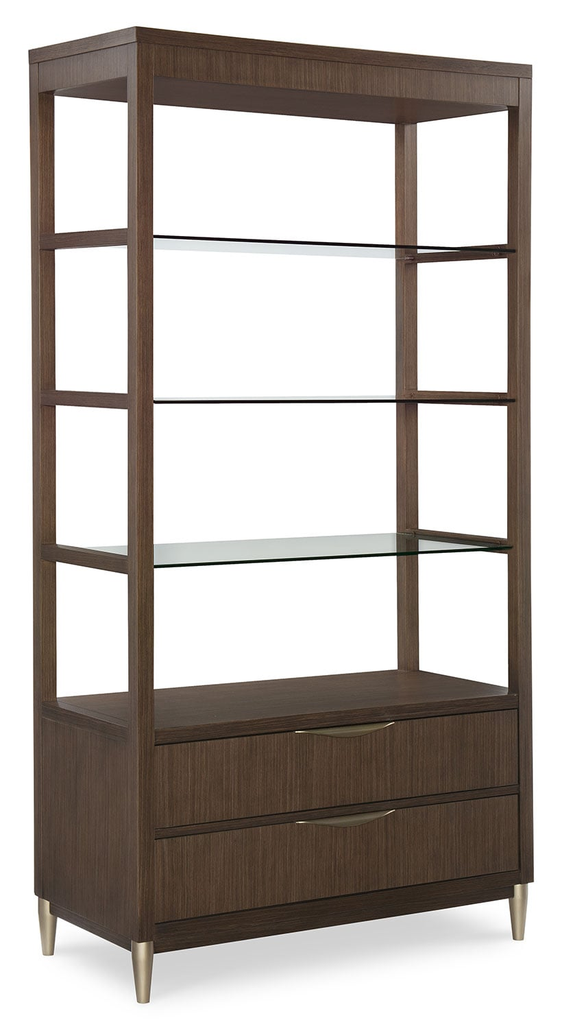 Dining Room Furniture - Rachael Ray Soho Etagere - Ash Brown
