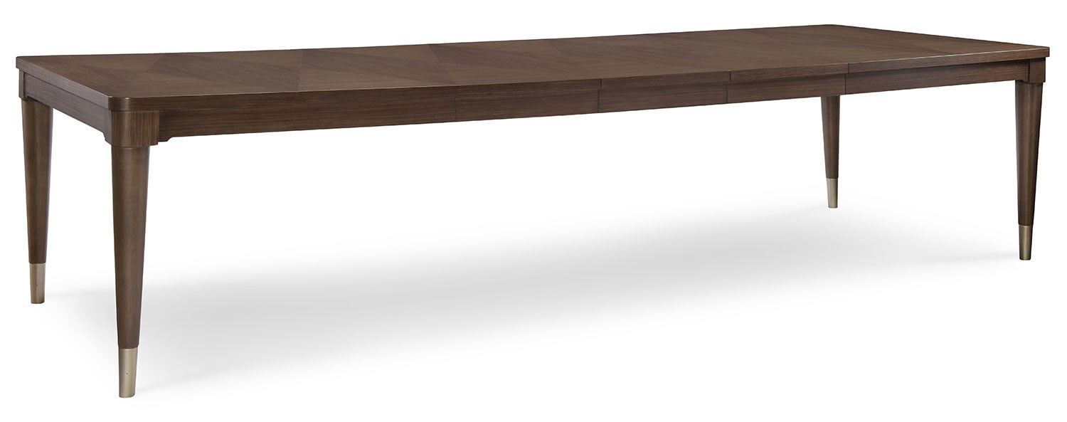 Rachael Ray Soho Dining Table with Three Leaves - Ash Brown