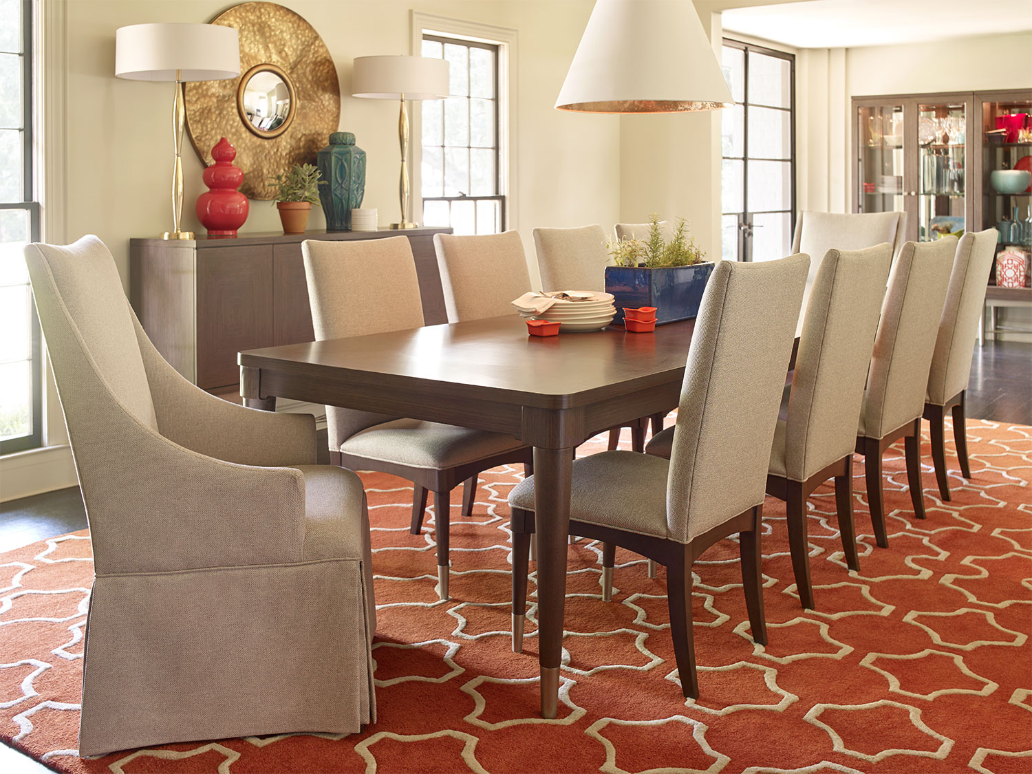 Rachael Ray Soho Dining Table With Three Leaves