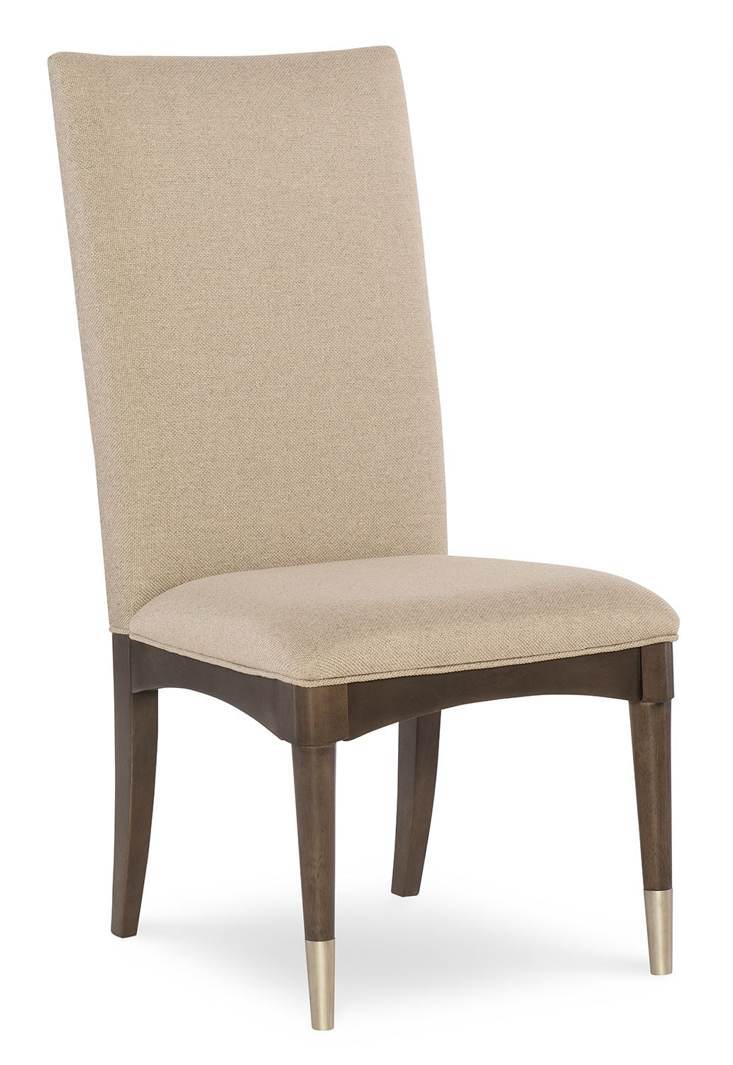 Dining Room Furniture - Rachael Ray Soho Upholstered Back Side Chair - Ash Brown