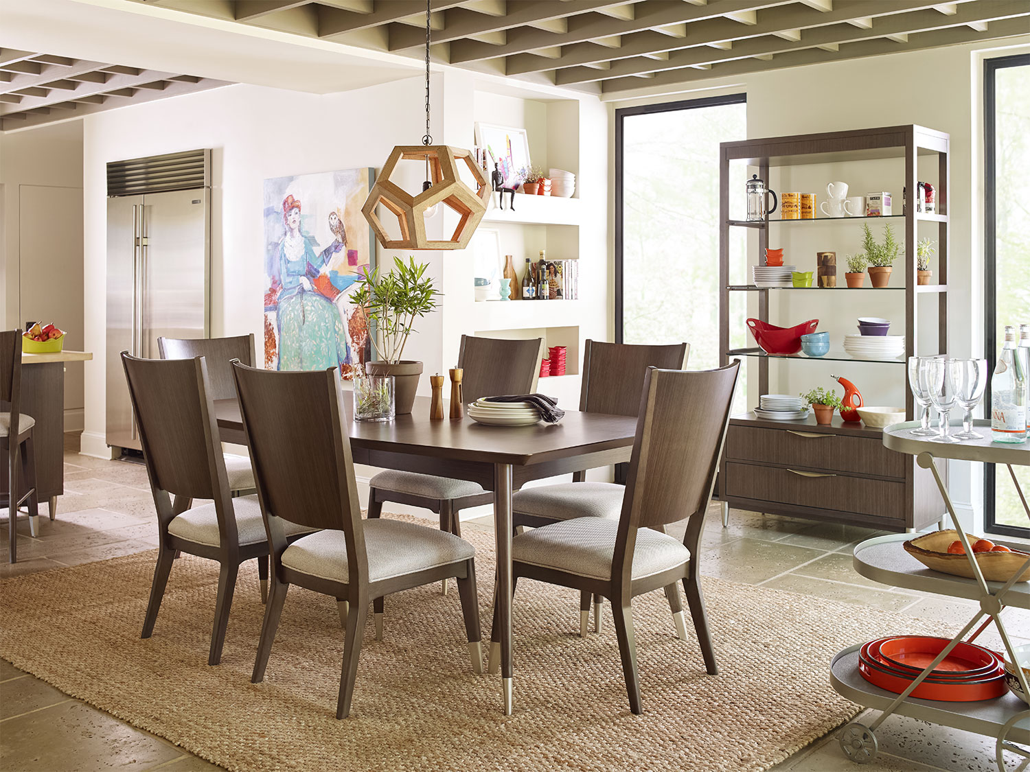 The Rachael Ray Soho Dining Room Collection - Ash Brown