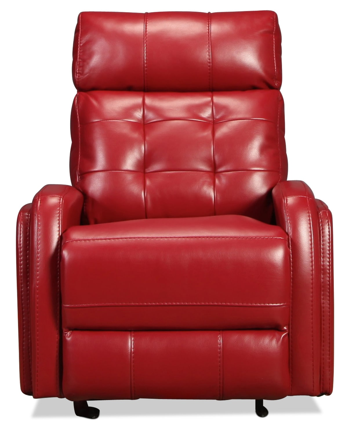 Living Room Furniture - Mace Power Recliner - Red