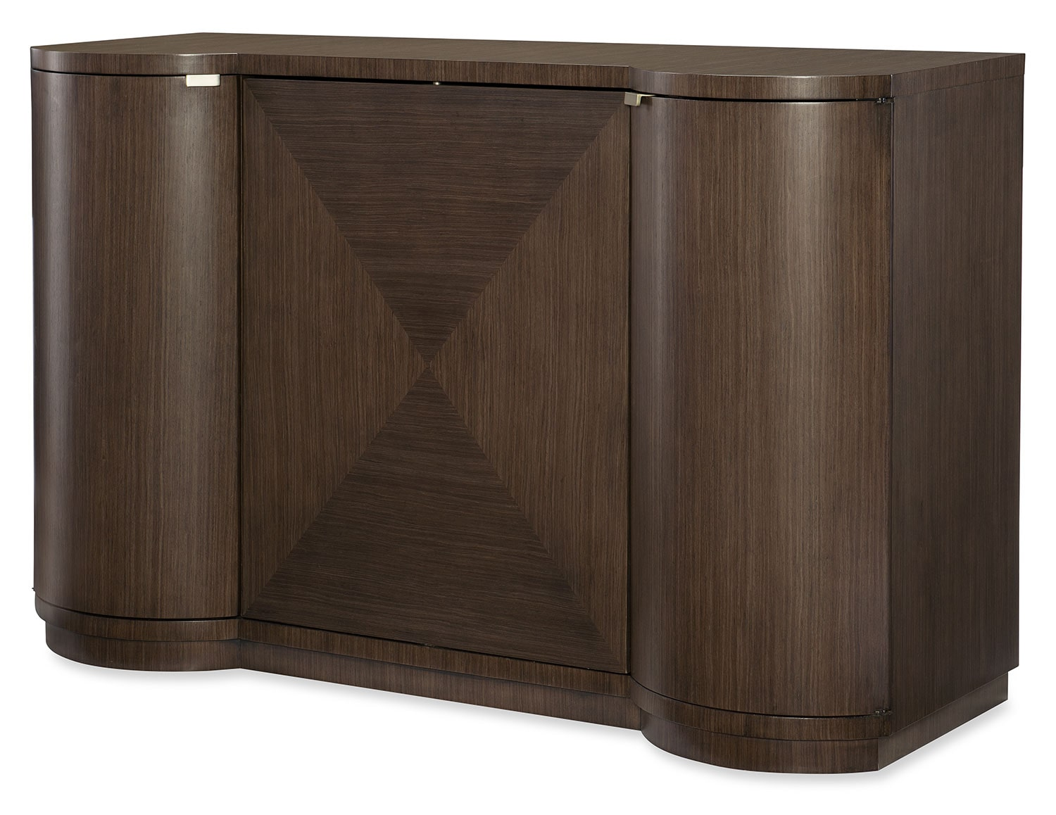 Dining Room Furniture - Rachael Ray Soho Bar Cabinet - Ash Brown