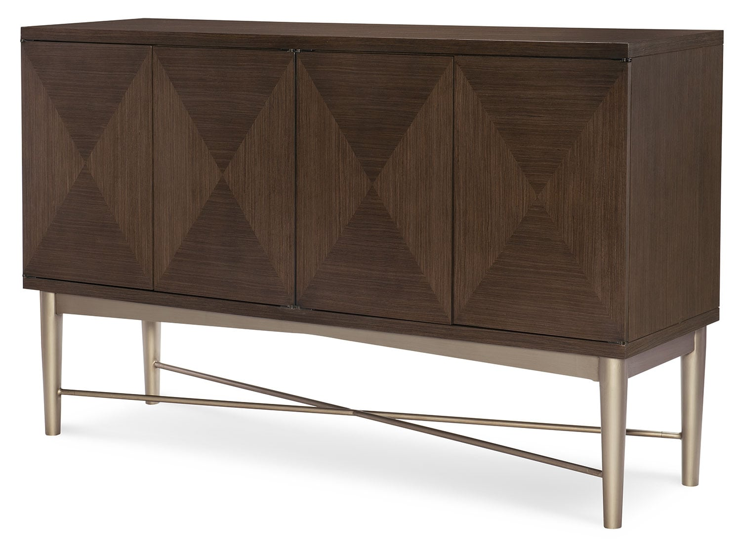 Dining Room Furniture - Rachael Ray Soho Credenza - Ash Brown