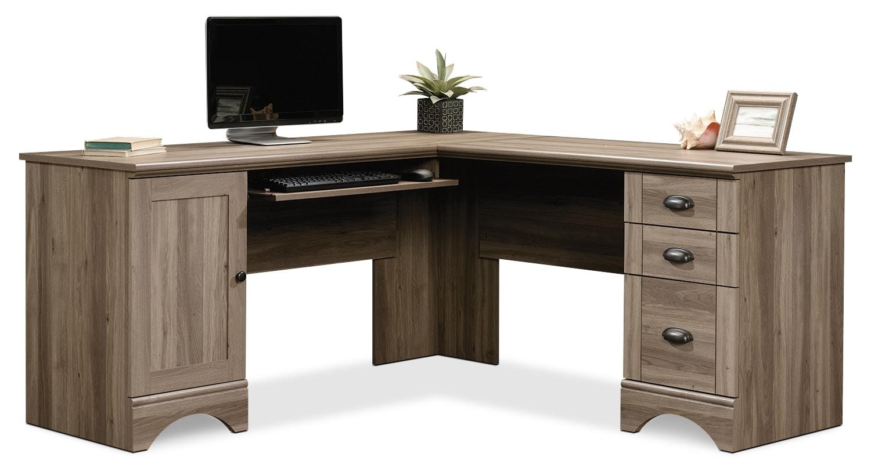Home Office Furniture - Harbor View Corner Desk – Salt Oak