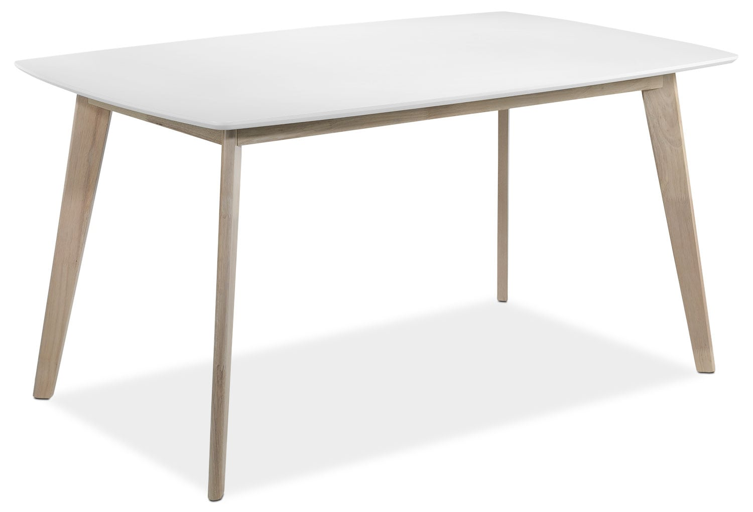 Casual Dining Room Furniture - Vivien Dining Table - White