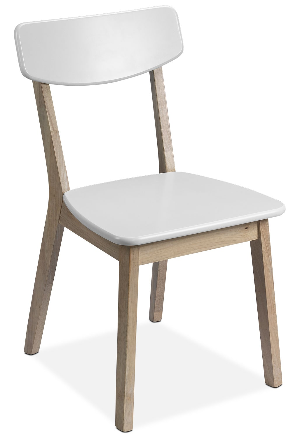 Casual Dining Room Furniture - Vivien Side Chair - White