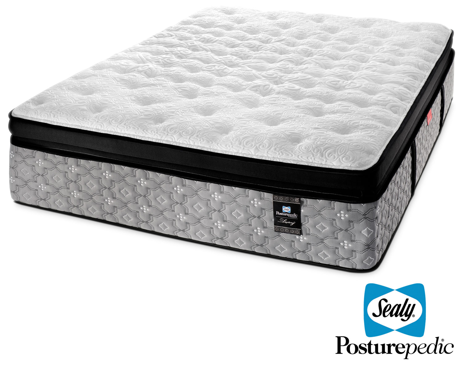Mattresses and Bedding - Sealy Labyrinth 2 Cushion Firm King Mattress