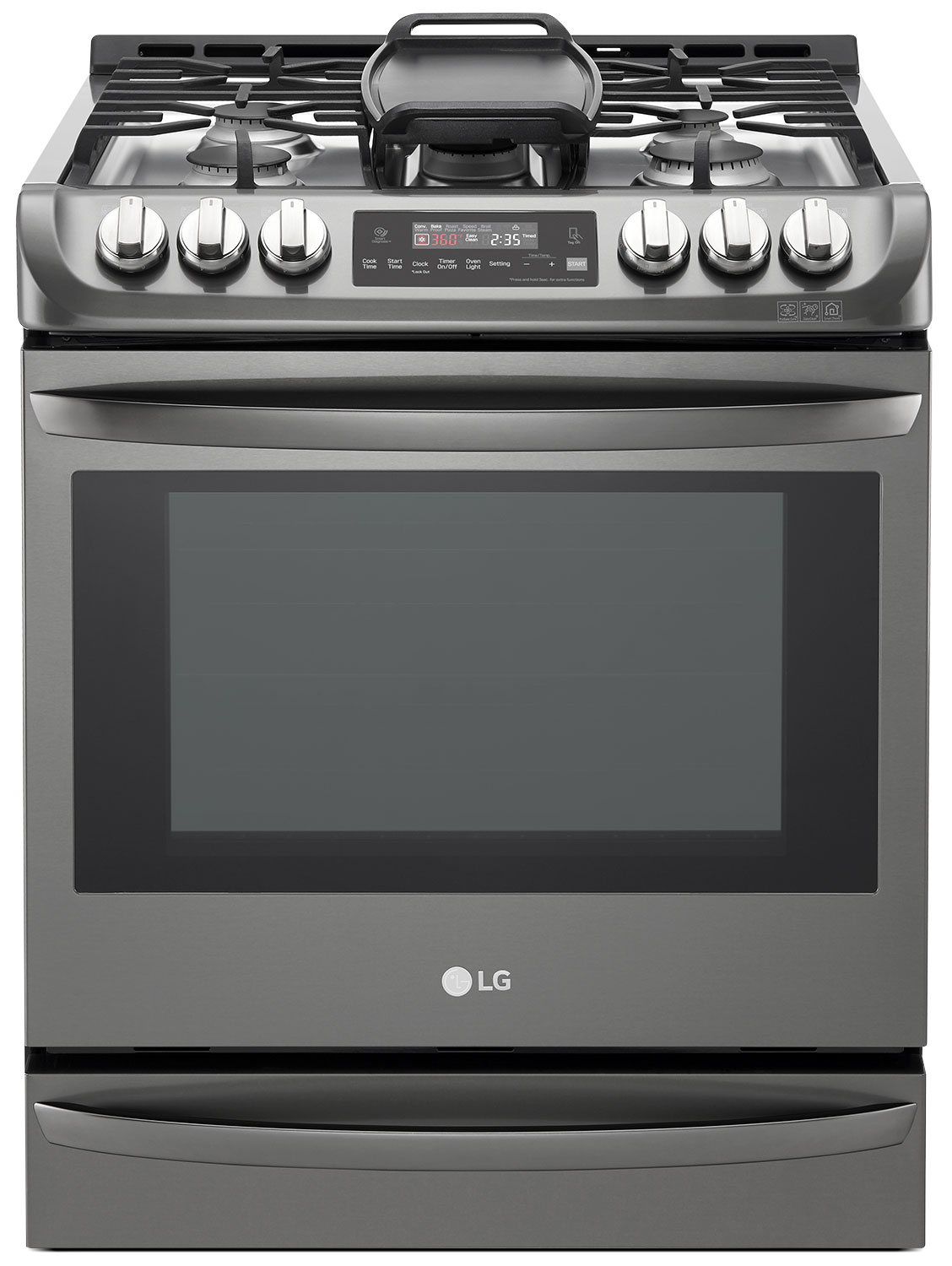 Cooking Products - LG 6.3 Cu. Ft. Slide-In Gas Range – LSG5513BD