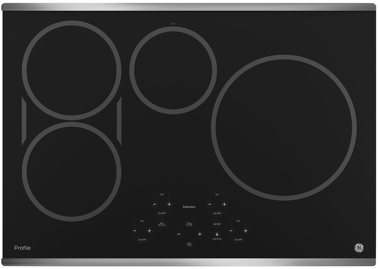 """GE Profile 30"""" Electric Induction Cooktop – PHP9030SJSS"""