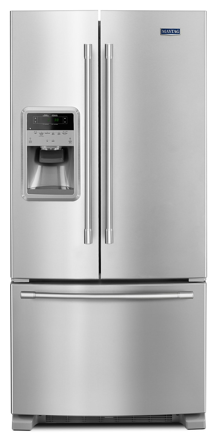 Refrigerators and Freezers - Maytag 22 Cu. Ft. French-Door Refrigerator – MFI2269FRZ