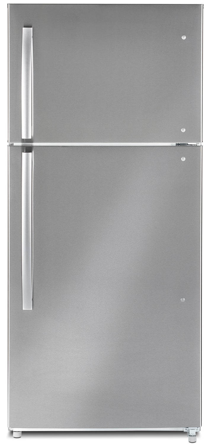 Refrigerators and Freezers - Moffat  18 Cu. Ft. Top-Freezer Refrigerator – MTE18GSKSS