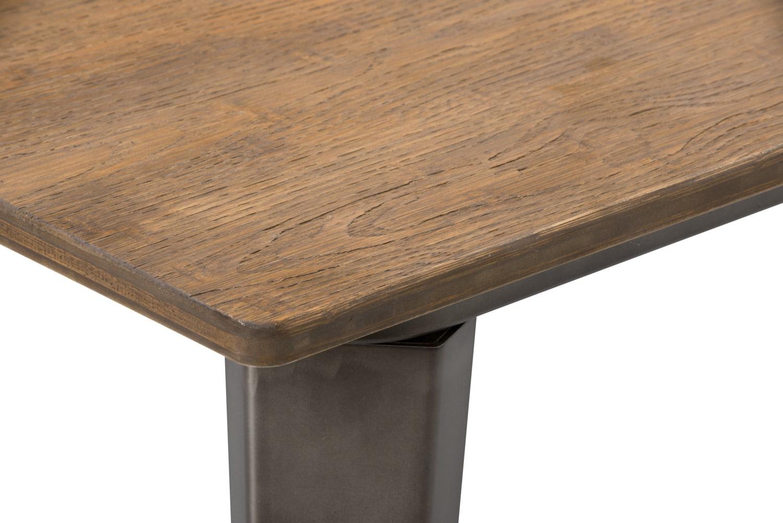 Table de salle manger peyton de hauteur comptoir brick for Hauteur table a manger