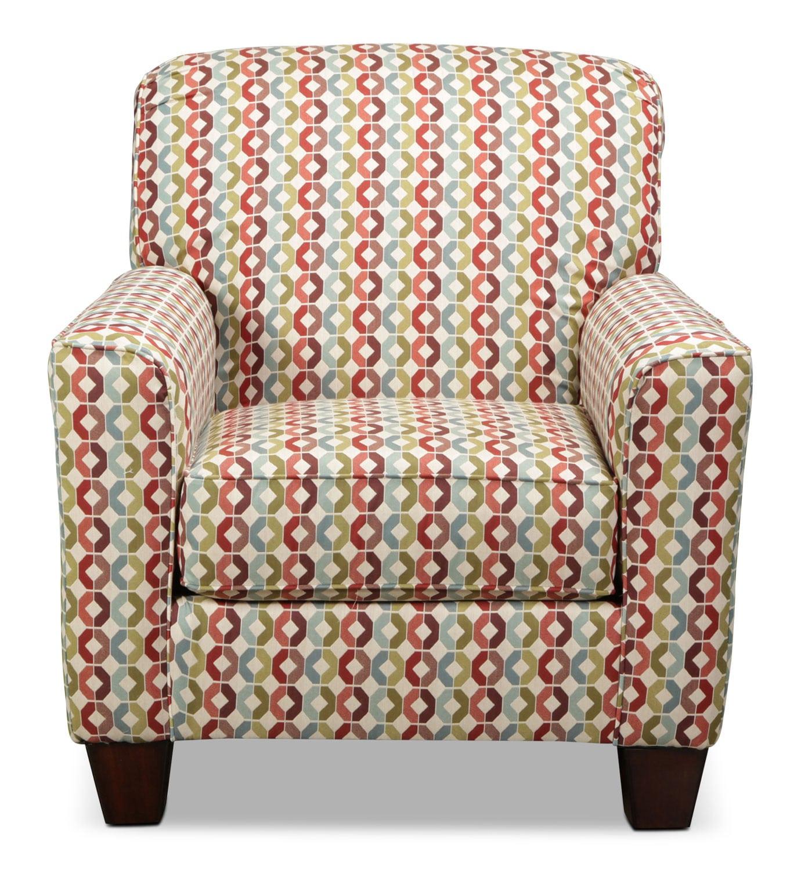 Moroni Accent Chair - Geometric