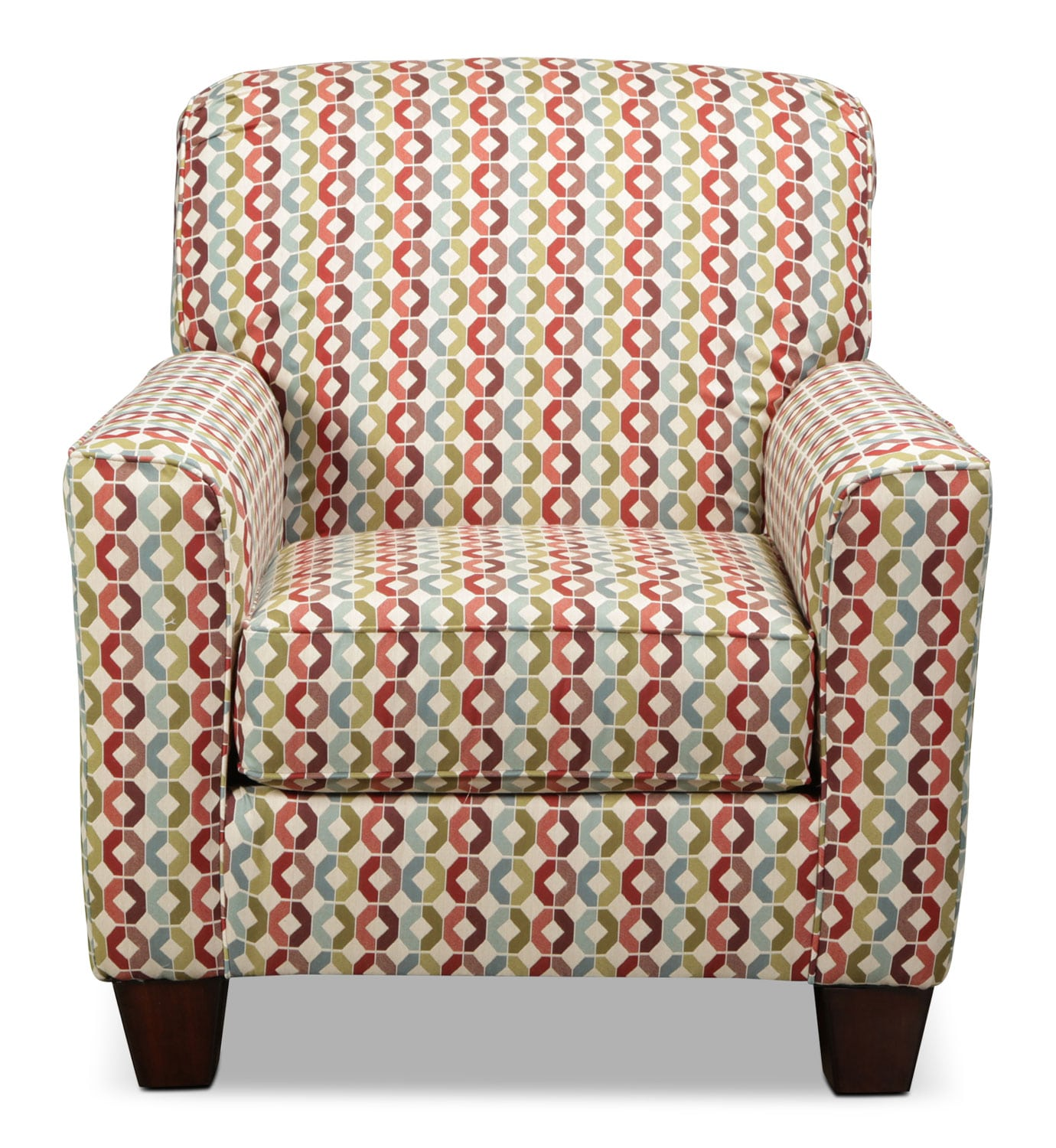 Living Room Furniture - Moroni Accent Chair - Geometric