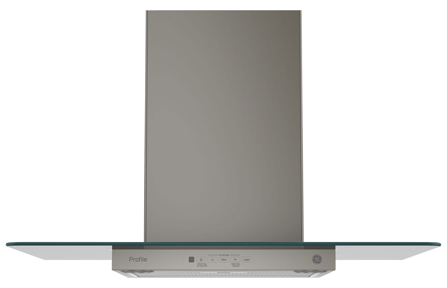"GE 30"" Wall-Mount Glass Canopy Chimney Range Hood – PVW7301EJESC"