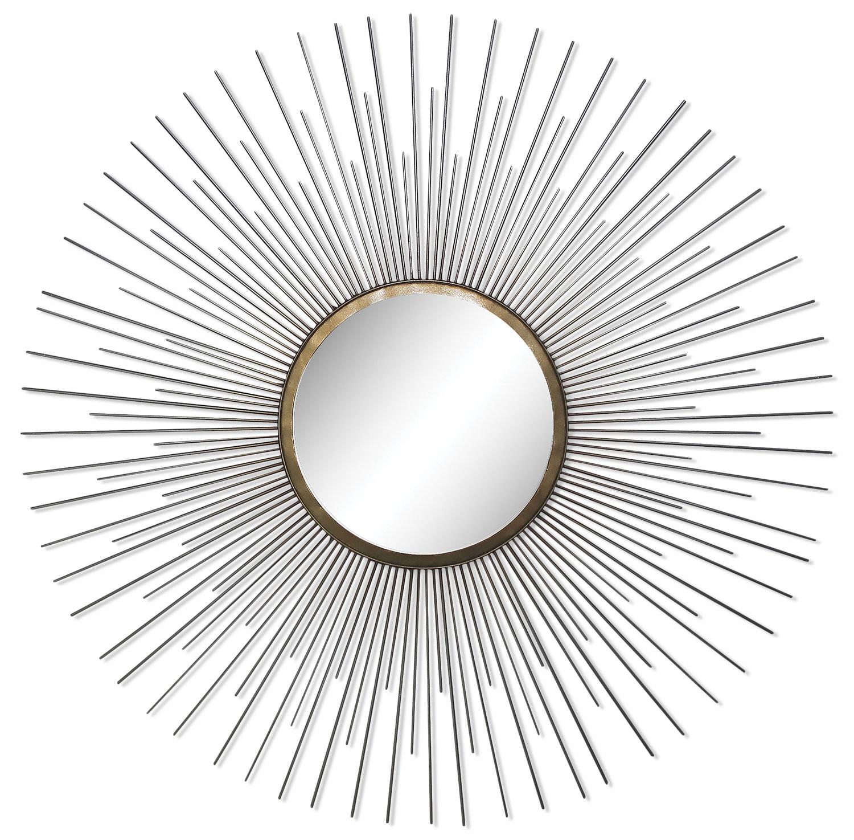 """Triple Spoke 35"""" Mirror - Chrome"""