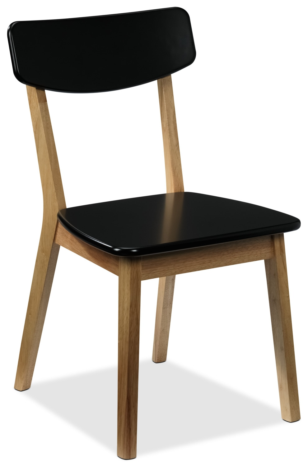 Casual Dining Room Furniture - Vivien Side Chair - Black