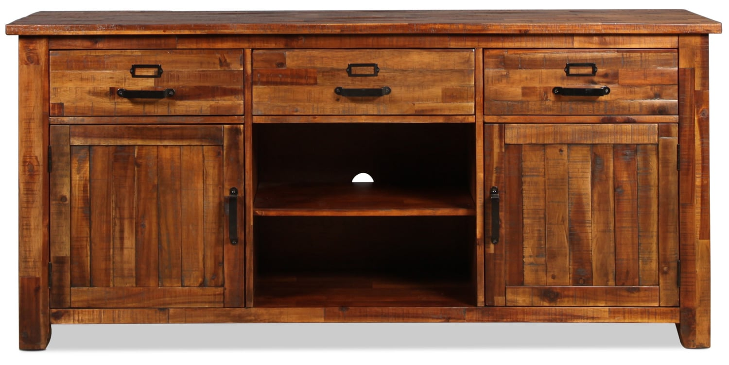 """Reign 70"""" TV Stand - Brown"""