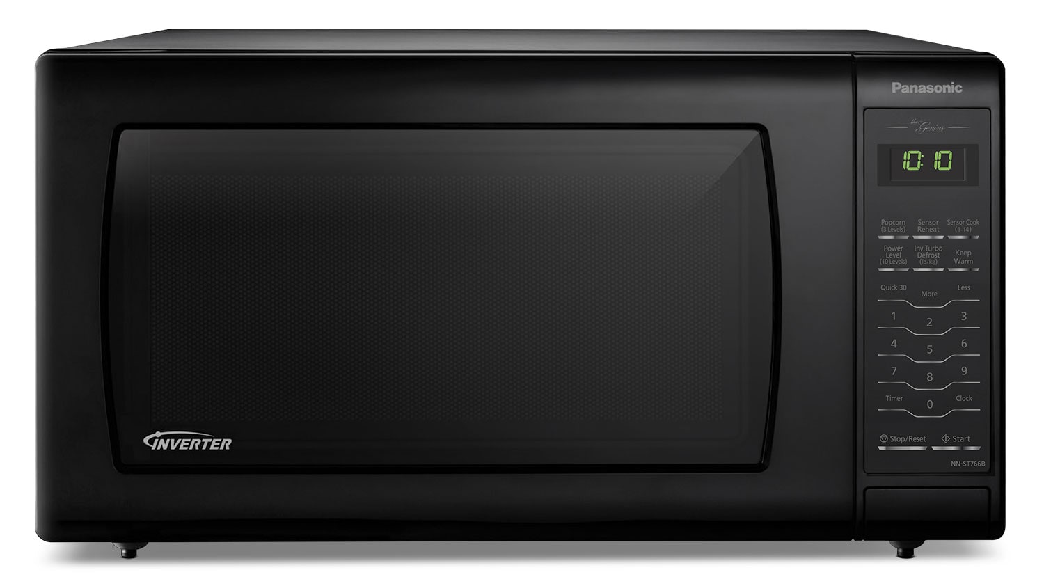 Panasonic Genius® 1.6 Cu. Ft. Countertop Microwave – NN-ST766B