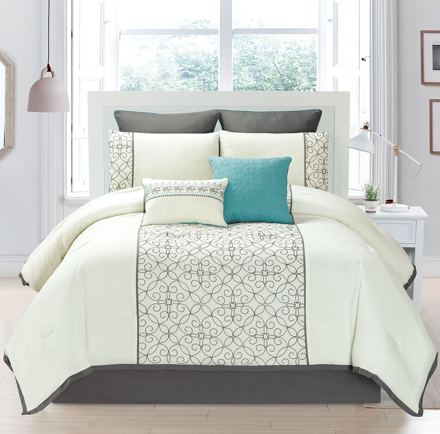 Marina 8-Piece Queen Comforter Set