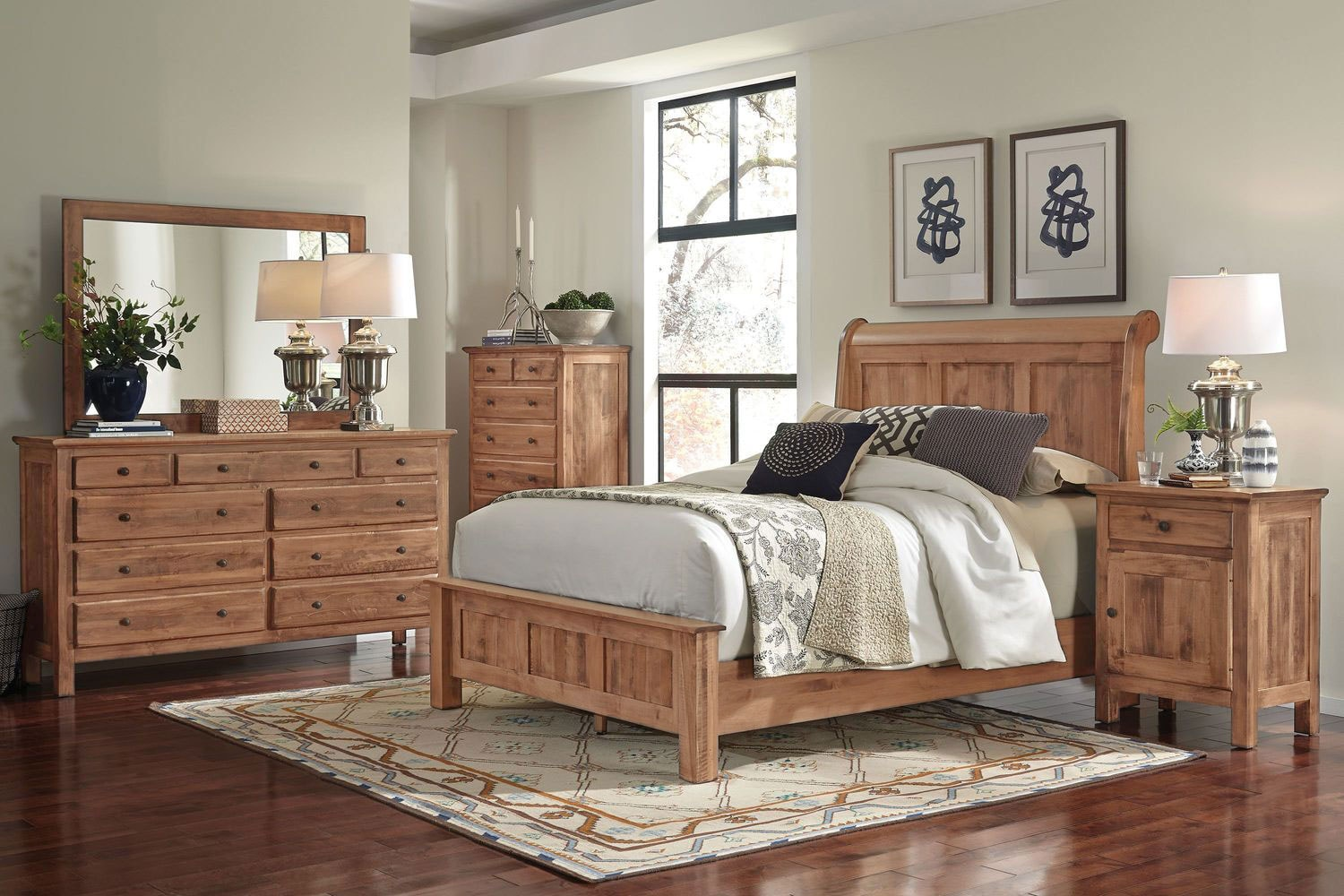 Lewiston 4 Piece King Bedroom
