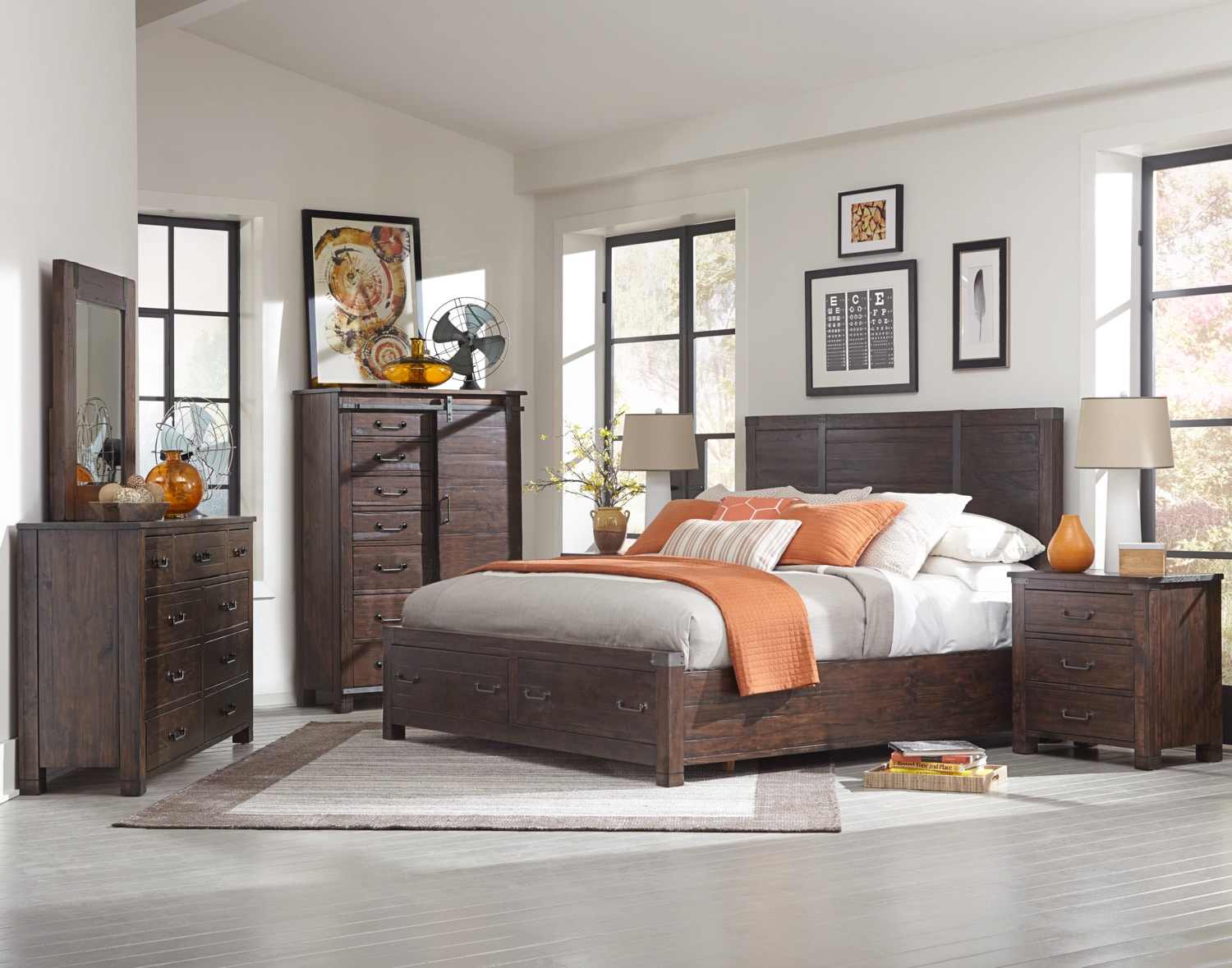 The Pine Hill Collection - Rustic Pine