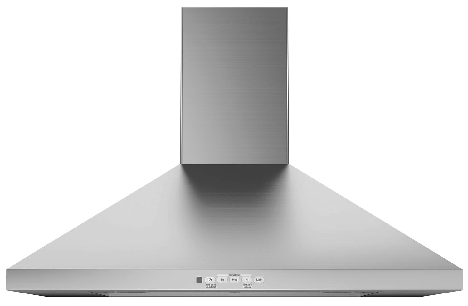 "GE 30"" Wall-Mount Pyramid Chimney Range Hood – JVW5301SJSSC"