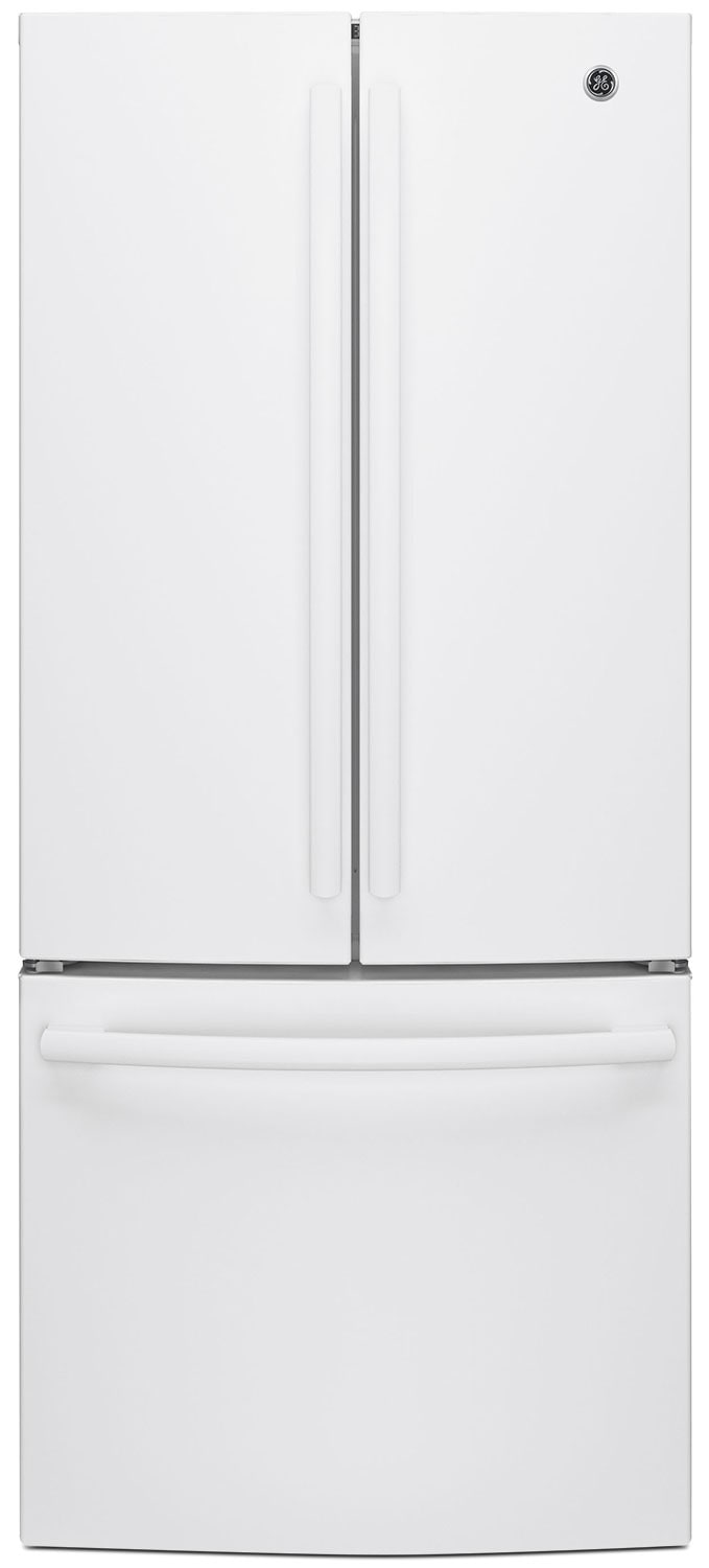 GE 20.8 Cu. Ft. French-Door Refrigerator – GNE21DGKWW