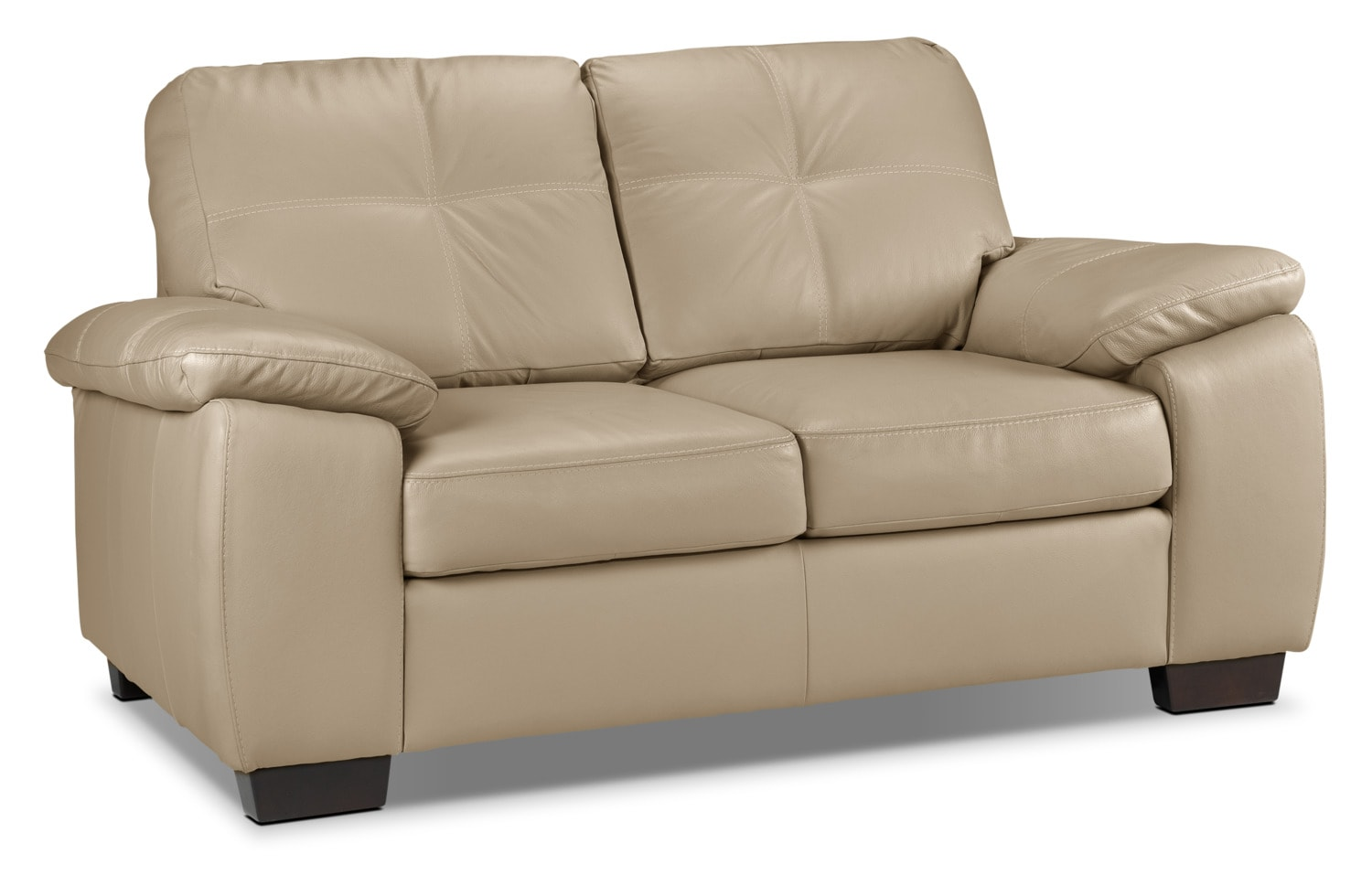 Naples Loveseat - Warm Beige