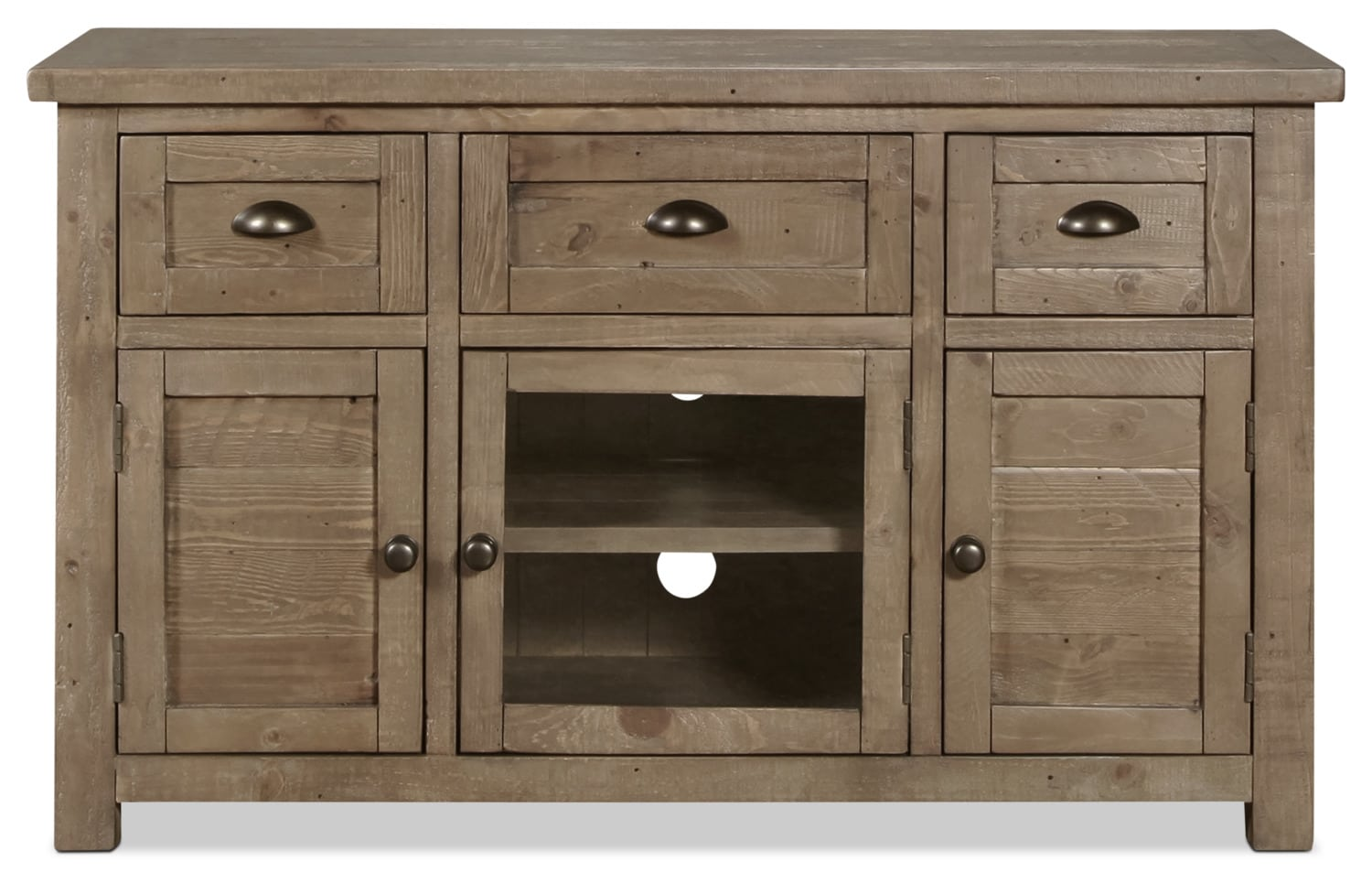 """Entertainment Furniture - Tuscan Crossing 50"""" TV Stand - Brown"""