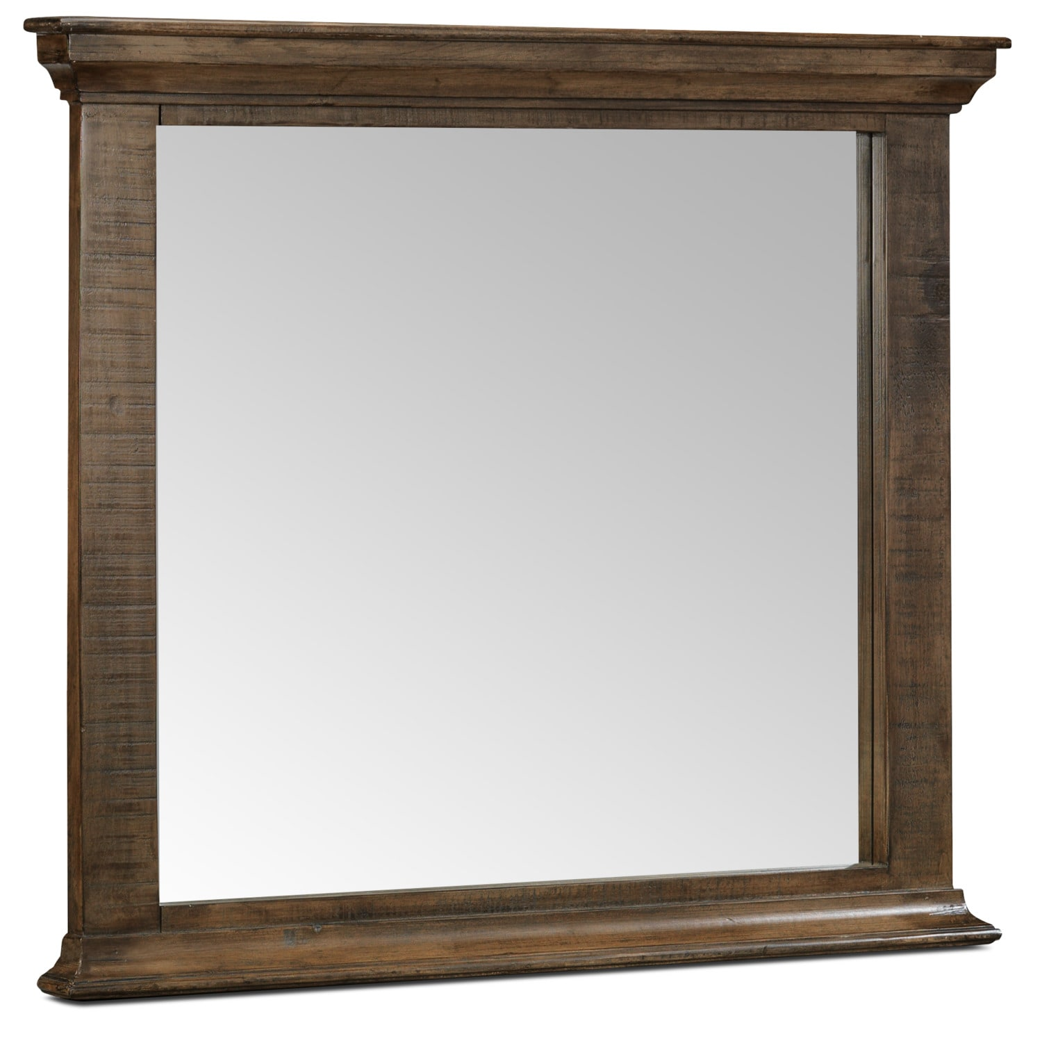 Monterry Mirror - Brown Driftwood