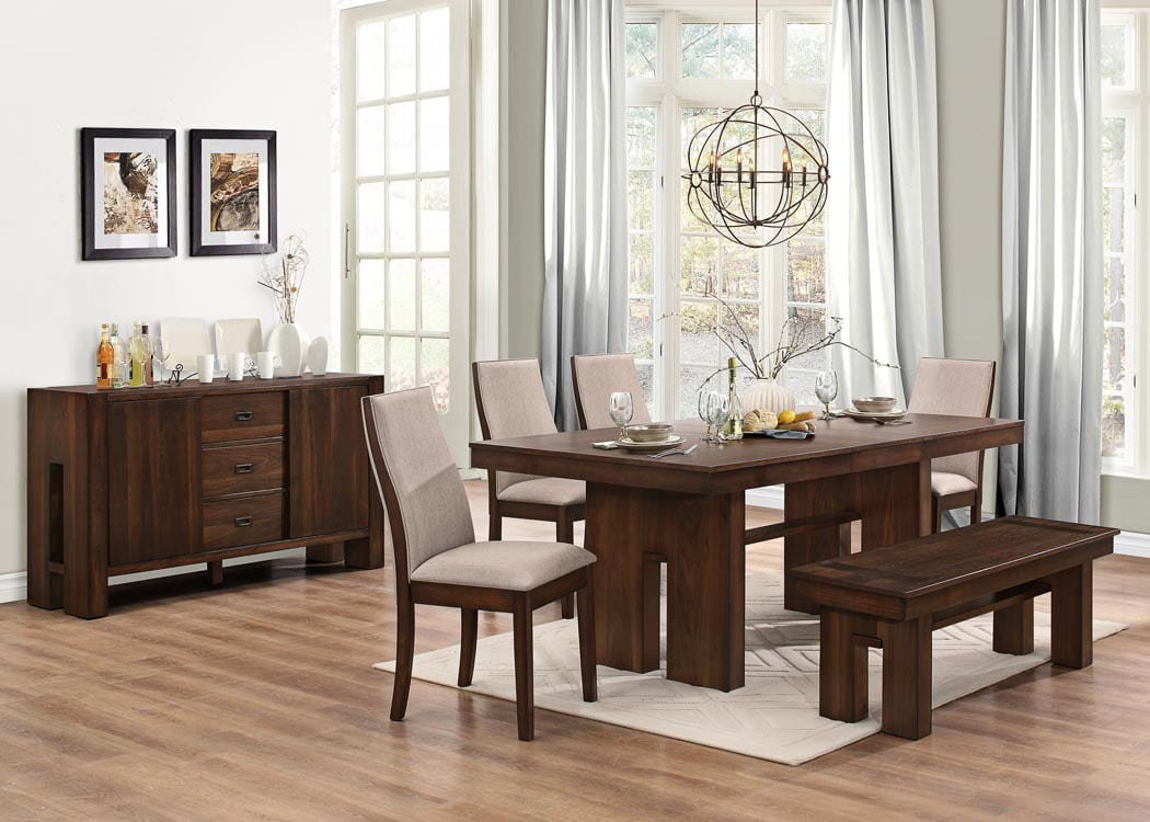 dining room collections dining sets canada leon s the lena collection cherry