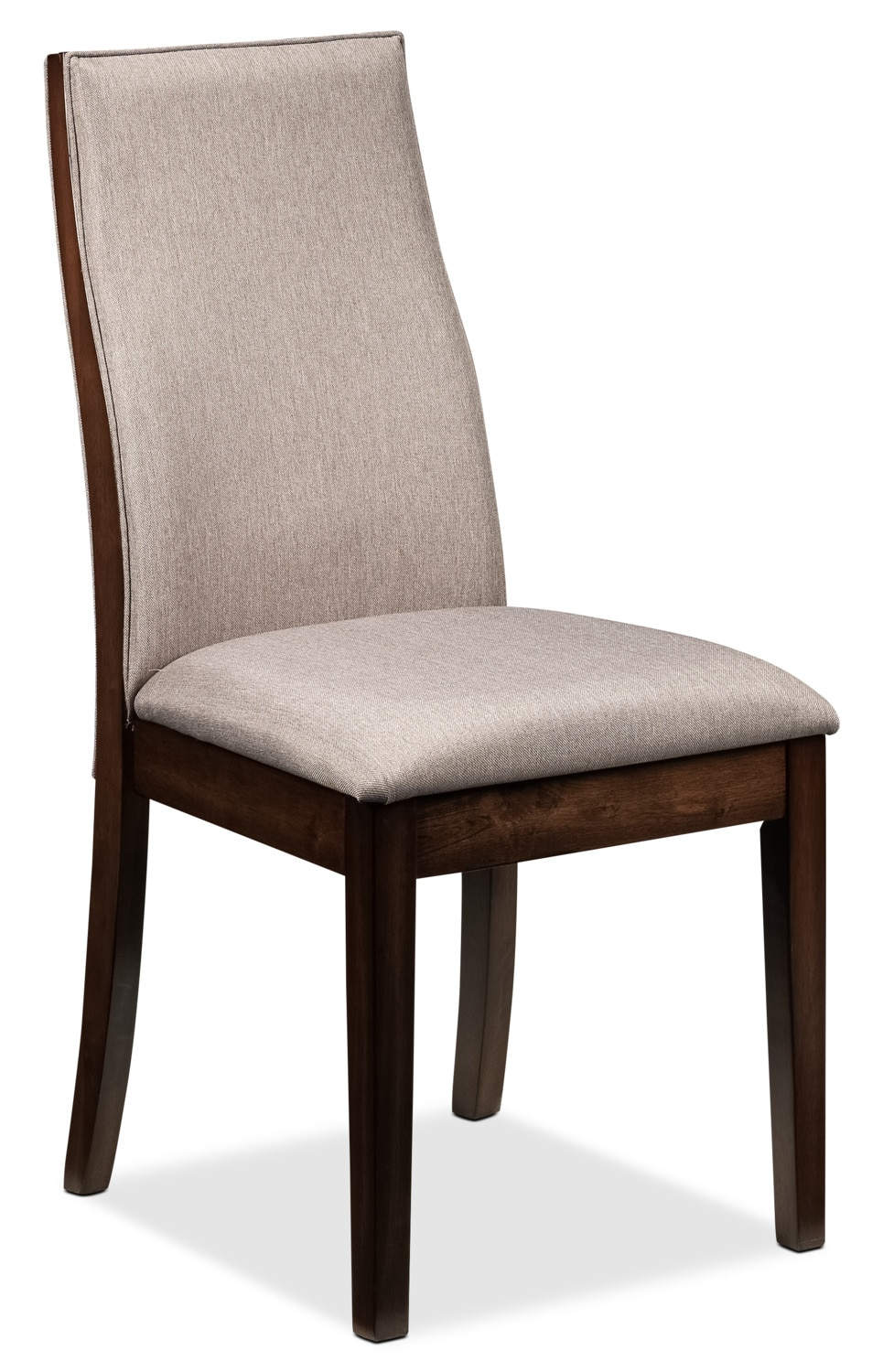 Lena side chair cherry leon 39 s for Cherry dining room chairs