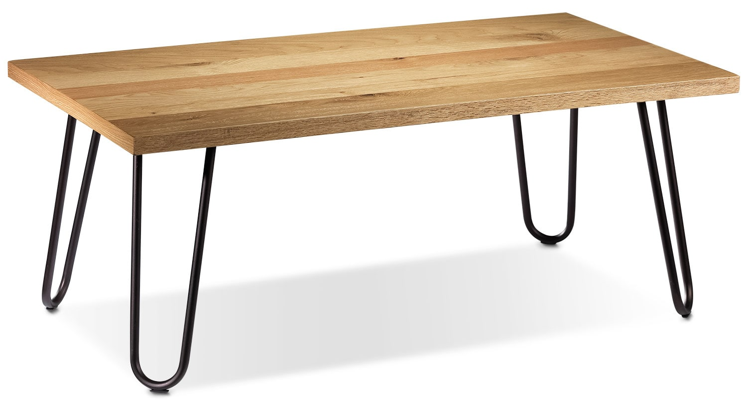 Accent and Occasional Furniture - Dijon Coffee Table - Light Oak
