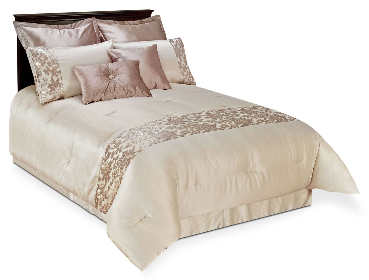 Kylie 8-Piece Queen Comforter Set